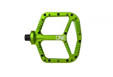 OneUp Paire de Pédales Aluminium Vert