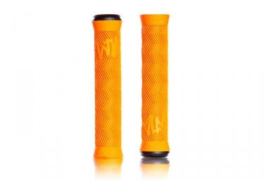 Puños Volume Bikes VLM Flangeless - orange none
