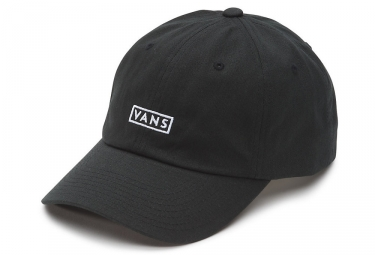 Vans Curved Bill Jockey Cap Negro