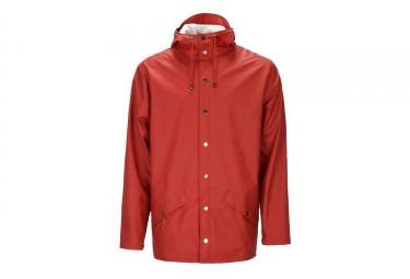 veste rains jacket rouge xs s