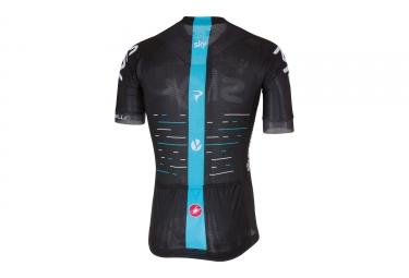 maillot manches courtes castelli team sky aero race 5 1 noir m