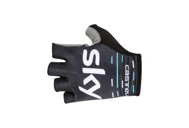 paire de gants castelli team sky roubaix noir xxl