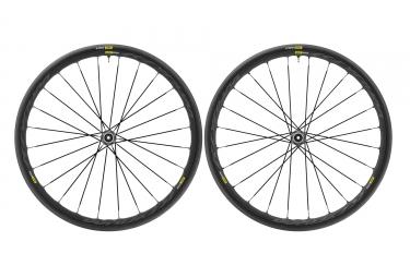 paire de roues mavic ksyrium elite ust disc 6 trous 12x142mm sram shimano yksion pro ust 25mm