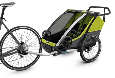 Remorque à Enfant Thule Chariot Cab 2 Vert Gris