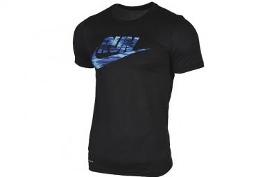 Nike dry legendary brand 831909 010 homme t shirt noir m