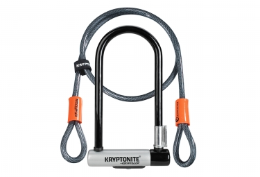 KRYPTONITE Kryptolock Standard U Locks + Kryptoflex
