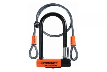 Antivol U Kryptonite New-U Evolution Mini 7 avec Câble Kryptoflex