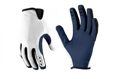 poc paire de gants index air blanc m