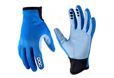 POC Paire de Gants INDEX Wind Breaker Bleu