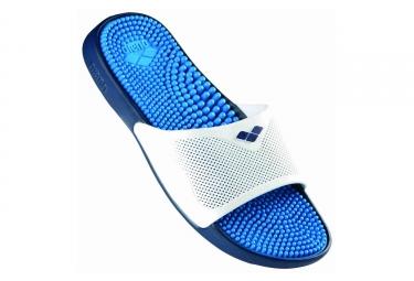 sandales de bain arena marco x grip bleu blanc 46