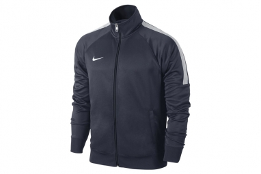 Nike team club trainer 658683 451 homme sweat shirt bleu l