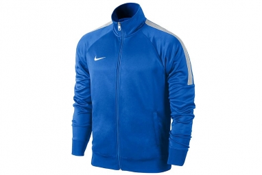 Nike team club trainer 658683 463 homme sweat shirt bleu l