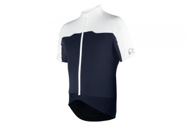 poc maillot manches courtes avip printed light bleu blanc xl