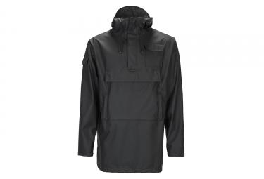 Rains Camp Anorak Waterproof Jacket Black