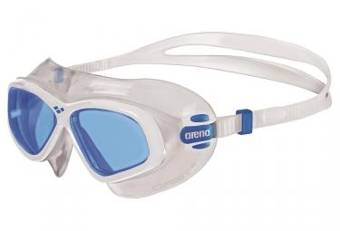 Lunettes de bain arena orbit 2 transparent bleu