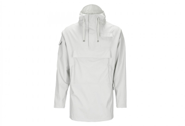 Giacca impermeabile Rains Camp Anorak Moon Grey