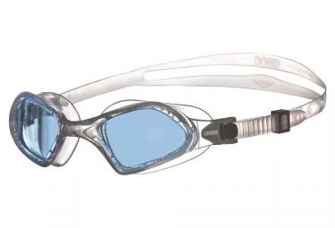 lunettes de bain arena smartfit bleu transparent