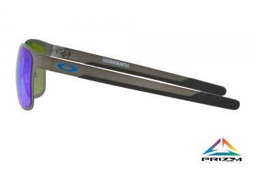 paire de lunettes oakley 2017 holbrook metal mat gunmetal saphire prizm polarized re