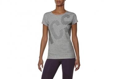 T shirt asics graphic ss tee 126295 0714 femme t shirt gris xs