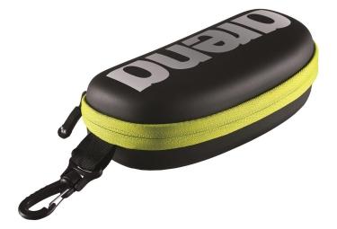 Boite a lunettes de piscine arena noir jaune