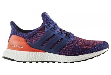 Chaussures de Running adidas running Ultraboost Bleu / Orange