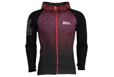 COMPRESSPORT 3D THERMO Hoodie SwimBikeRun Red/Black