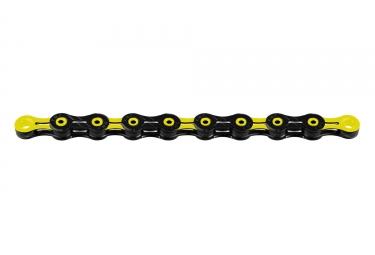 Chaine kmc dlc11 116 maillons 11v noir jaune