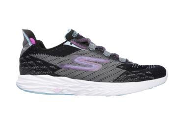 Chaussures de Running Femme Skechers Go Run 5 Noir / Gris