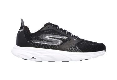 skechers go run ride 6 noir blanc 42