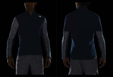 veste coupe vent deperlant adidas running supernova storm bleu m