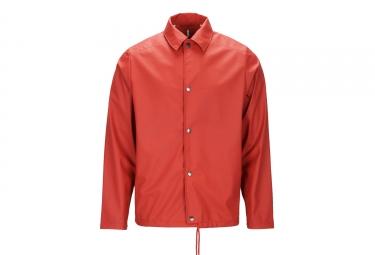 Veste coupe vent impermeable rains coach jacket rouge s m