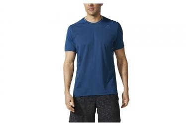 maillot manches courtes adidas running supernova bleu nuit m