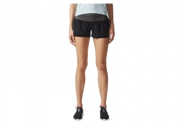 short femme adidas running ultra energy noir gris m