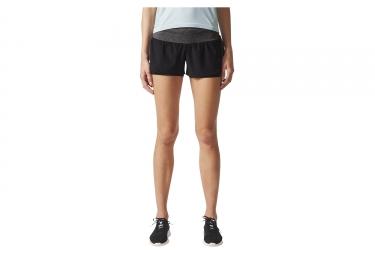 Pantalon Corto Deportivo Mujer Adidas Running Ultra Energy Negro Gris L