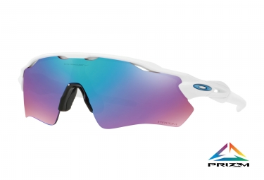 oakley lunettes radar ev path polished white prizm snow sapphire iridium ref oo9208 4738