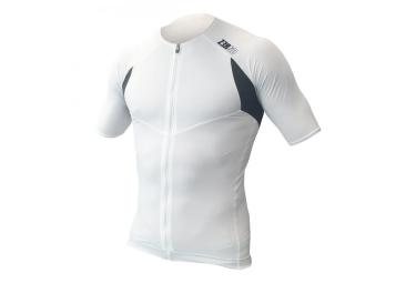 maillot de triathlon z3rod tt singlet blanc s