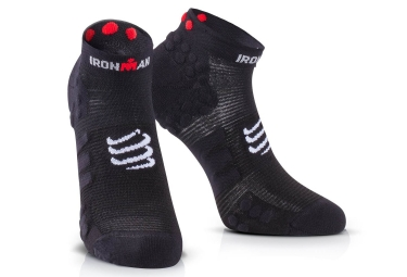 chaussettes compressport ironman proracing v3 run noir 35 38