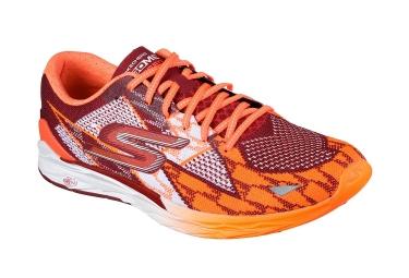 skechers gomeb speed 4 rouge orange 43 1 2