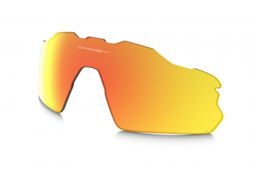verres pour lunettes oakley radar ev fire iridium polarized path ref 101 354 005