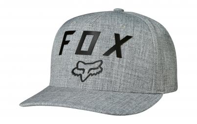 casquette flexfit fox number 2 gris s m