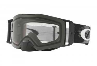 masque oakley front line mx matte black clear ref oo7087 01