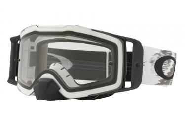 Masque OAKLEY Front Line MX Matte White - Clear Ref: OO7087-45