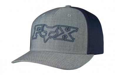 casquette flexfit fox transistor gris bleu s m