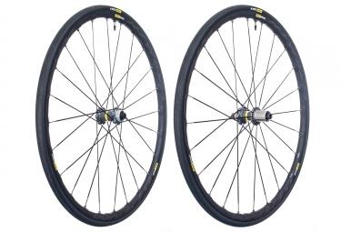 Paire de roues mavic ksyrium elite ust disc centerlock 12x142mm sram shimano yksion