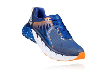 hoka gaviota bleu orange 44