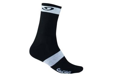 paire de chaussettes giro coolmax high rise noir blanc 46 48