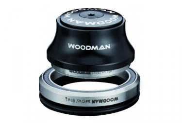 woodman jeu de direction integre axis z xs spg 20 comp conique 1 1 8 1 5 noir