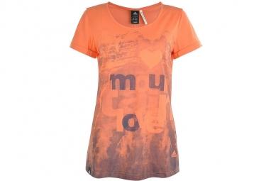 Adidas t shirt ws z11384 femme t shirt orange 32