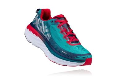 Chaussures de Running Hoka One One Bondi 5 Bleu / Rouge