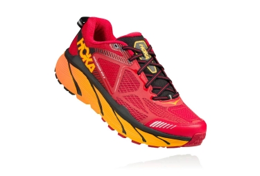 hoka challenger atr 3 rouge orange 43 1 3